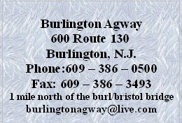 Burlington Agway Information